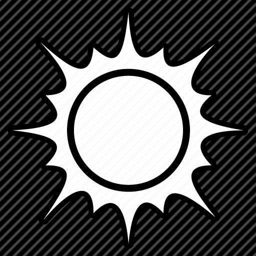 day, forecast, sun, sunny, temperature, weather icon