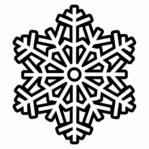 Snowflake, weather, winter, award, christmas, forecast, snow icon - Download on Iconfinder