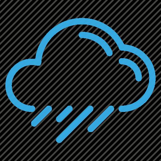 climate, forecasting, rain, weather, winter icon