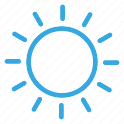 climate, forecasting, sun, weather, winter icon