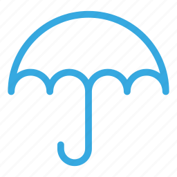 climate, forecasting, umbrella, weather, winter icon
