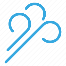 climate, forecasting, weather, wind, winter icon