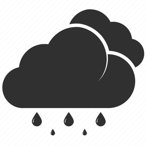 clouds, meteorology, rain, season, temperature, umbrella, weather icon