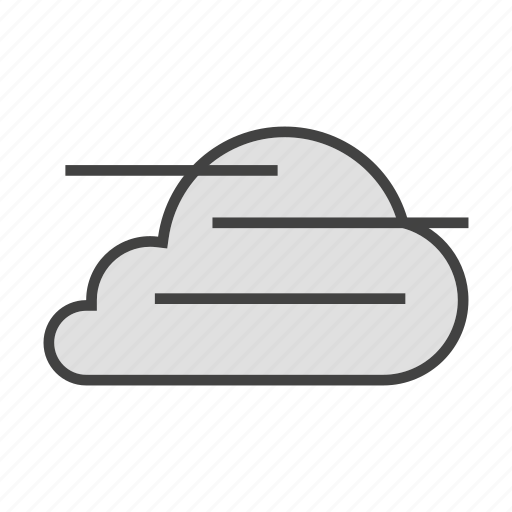 cloud, cloudy, fog, forcast, weather icon