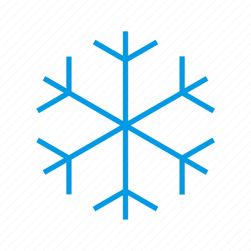 cold, forcast, freezing, snow, weather icon
