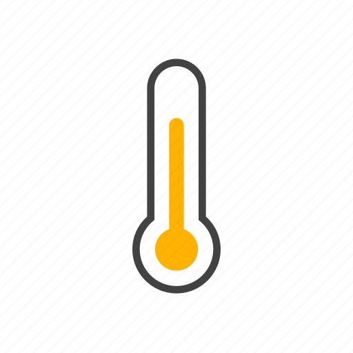 forcast, thermometer, warm, weather icon