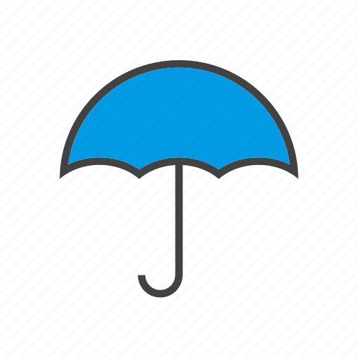 forcast, umbrella, weather icon