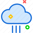 clouds, moon, night, stars, straightrainweather icon