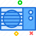 ac, air, conditioner, flow, unit icon