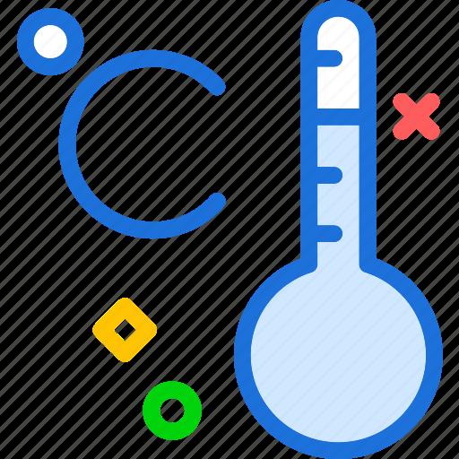 celsius, cold, heat, temperature, weather icon
