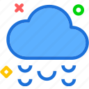 clouds, hailweather, moon, night, stars icon
