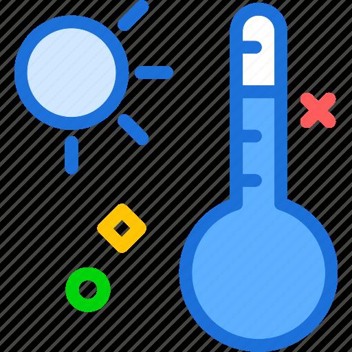 celsius, cold, daytemperature, heat icon