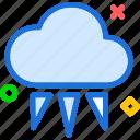 clouds, iceweather, moon, night, stars icon