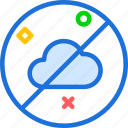 clouds, moon, night, noweather, stars icon