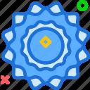 extreme, heat, solar, sun icon
