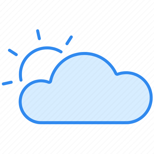 Cloud, cloudy, day, sun, sunny, weather icon - Download on Iconfinder