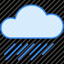 cloud, rain, rainy, weather icon