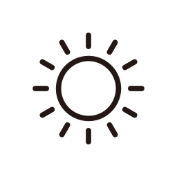 day, happy, hot, sun, sunny, weather icon