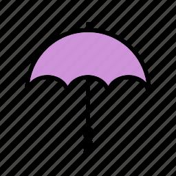 beach, cocktail, drink, umbrella, vication icon
