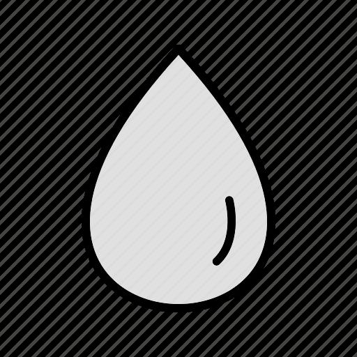 drop, rain, water icon