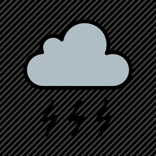 cloud, cloudy, rain, snow, weather icon