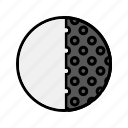 forecast, last quarter, moon icon