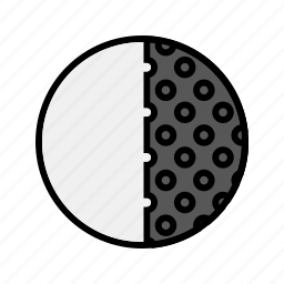 forecast, moon, quarter, weather icon