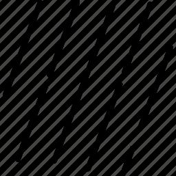 forecast, night, rain, raining, storm, weather icon