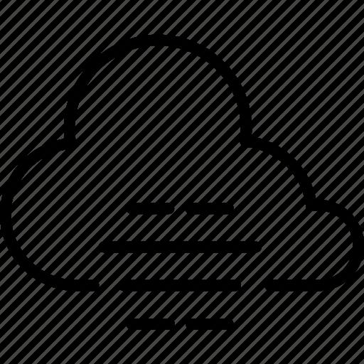 cloud, cloudy, fog, forecast, haze, weather icon