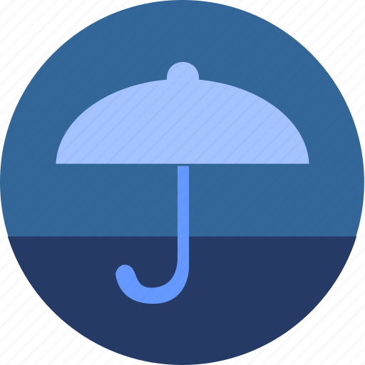 cloud, night, umbrella, weather icon