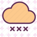 drop, rain, storm, water icon