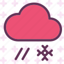 clouds, moon, night, rainsnowweather, stars icon