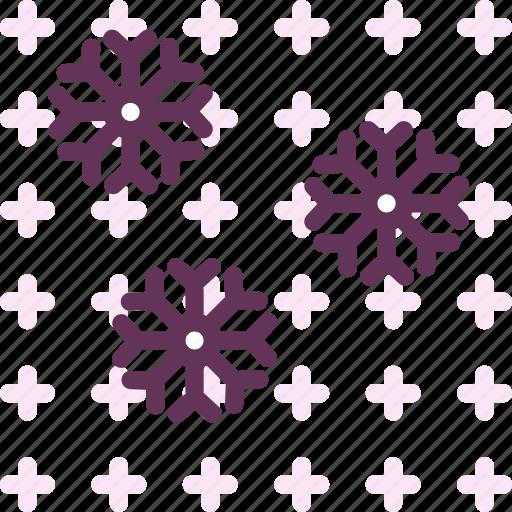 christmassnow, cold, snow, snowflake, winter icon