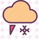 clouds, moon, night, snowiceweather, stars icon