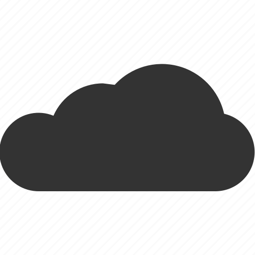 cloud, cloudy, gloomy, misty, overcast icon