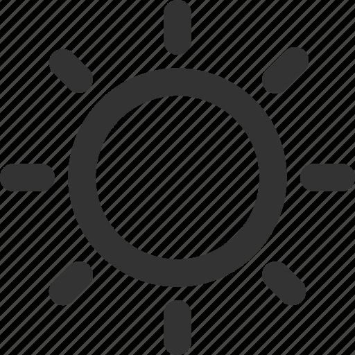 bright, light, shine, sun, sunny, sunshine icon