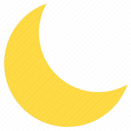 cloud, moon, temperature, weather icon