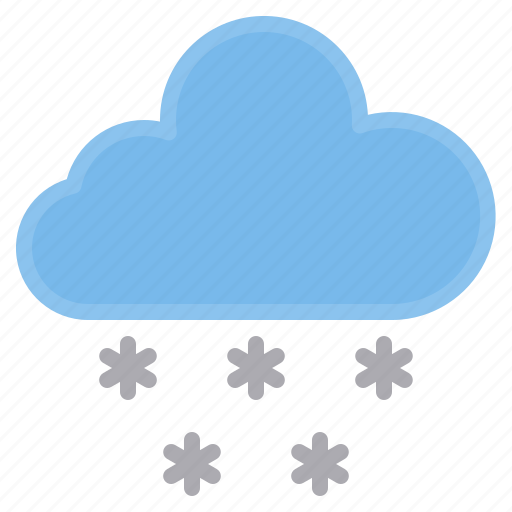 cloud, snowing, temperature, weather icon
