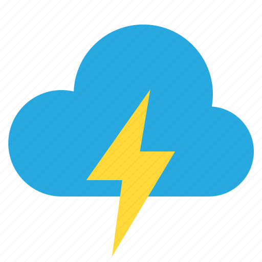 blustery, cloud, temperature, weather icon