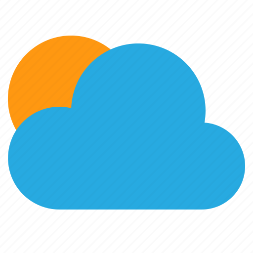 clear, cloud, temperature, weather icon