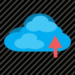 cloud, documents, drive, icloud, one drive, saving cloud icon
