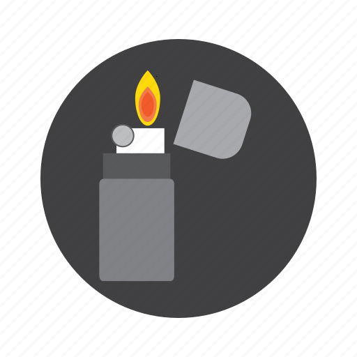 documents, downloads, favorites, fire, lighter, zippo icon