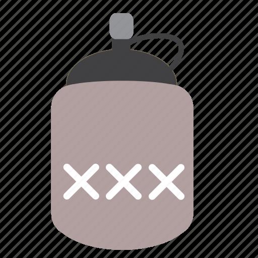 Alcohol, booze, downloads, jar, jug, moonshine, whiskey icon - Download on Iconfinder