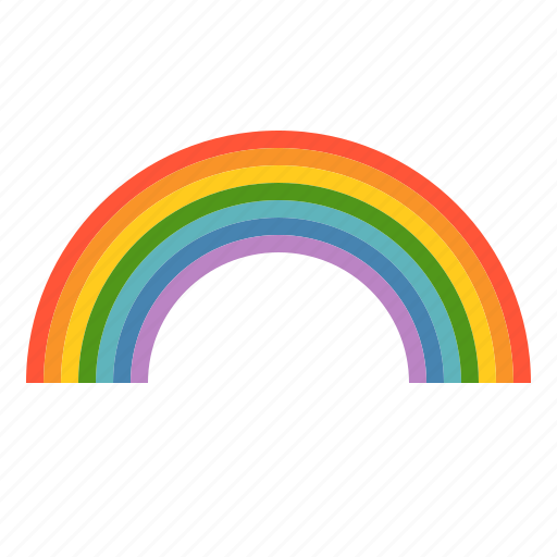 Bright, colorful, rainbow, weather icon - Download on Iconfinder