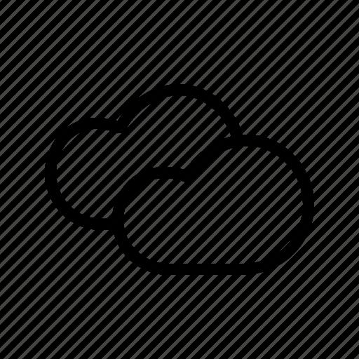 cloud, clouds, forecast, rain, sky, weather icon