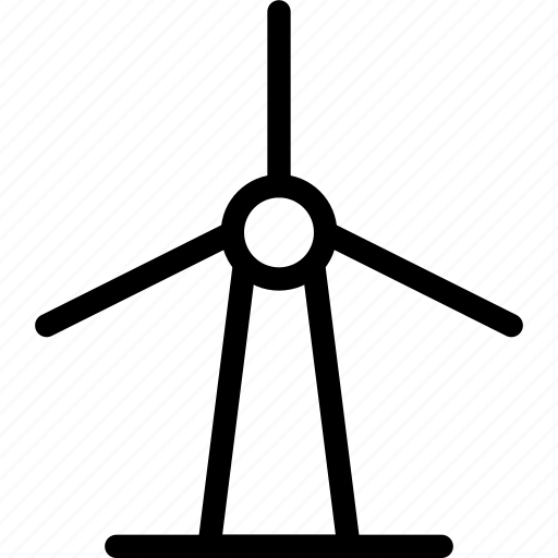 energy, turbine, wind, windmill icon
