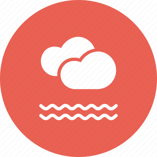 cloud, clouds, fog, foggy, forecast, frost, mist icon