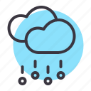 cloud, clouds, forecast, hail, rain, rainfall, stone icon