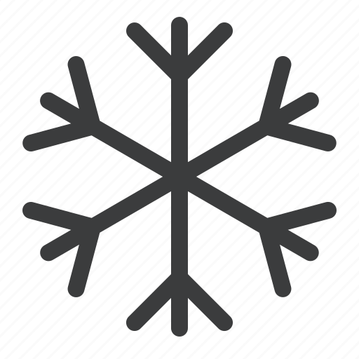 christmas, cold, frost, snow, snowflake, weather, winter icon