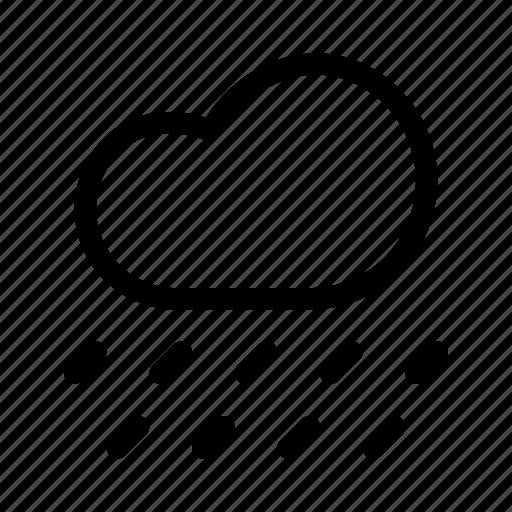 cloud, cloudy, forecast, rain, rainfall, raining, weather icon